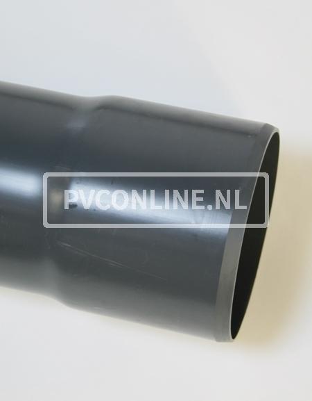 PVC DRUKBUIS 125X 6,0 LGT 5 MTR PN 12,5
