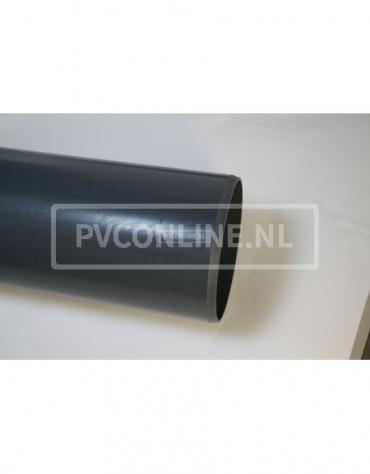 PVC DRUKBUIS 160 x 4,9 L 1 MTR PN8