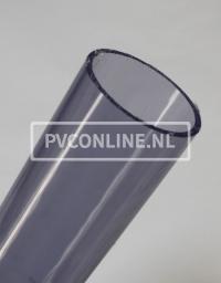 PVC BUIS TRANSPARANT 63mm X 3.0mm PN10 LENGTE 0,5 METER