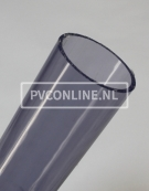 PVC BUIS TRANSPARANT 90mm X 4.3mm PN10 LENGTE 1,5 METER