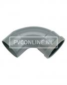 PVC BOCHT 1 X MA/S 160 90*