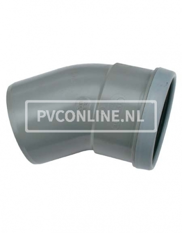 PVC BOCHT 1 X MA/S 200 15*