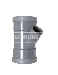 PVC T-STUK 2 X MA 125 X 40 45*