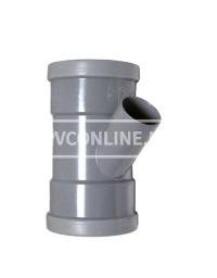 PVC T-STUK 2 X MA 125 X 50 45*