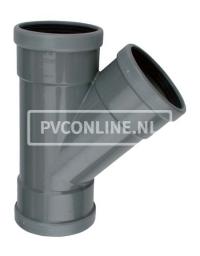 PVC T-STUK 3 X MA 125 X 125 45*