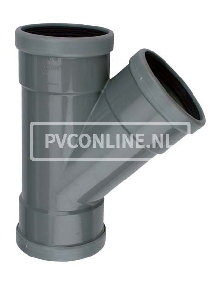 PVC T-STUK 3 X MA 160 X 125 45*
