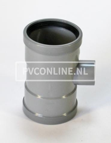 PVC T-STUK 2 X MA 110 X 75 90*