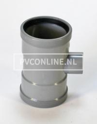 PVC T-STUK 2 X MA 125 X 40 90*
