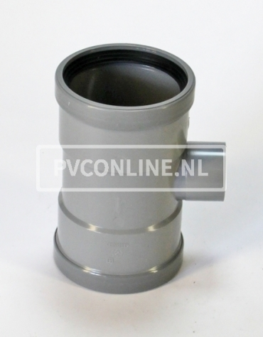 PVC T-STUK 2 X MA 125 X 50 90*