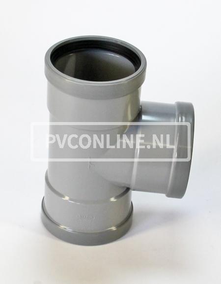 PVC T-STUK 3 X MA 125 X 125 90*