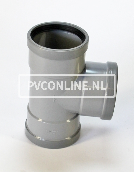 PVC T-STUK 3 X MA 200 X 110 90*