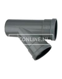 PVC T-STUK 2 X MA/S 250 X 160 45*