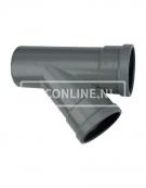 PVC T-STUK 2 X MA/S 250 X 250 45*