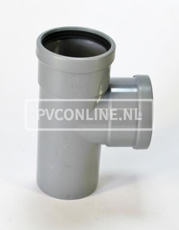 PVC T-STUK 2 X MA/S 125 90*