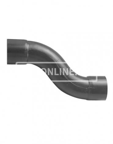 PVC HANDVORM S-BOCHT 50 MM PN 10 HART OP HART 85MM