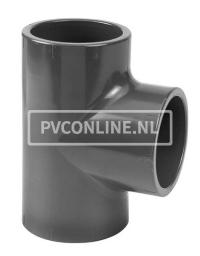 PVC T-STUK 40 x 40 x 40 90° PN 16