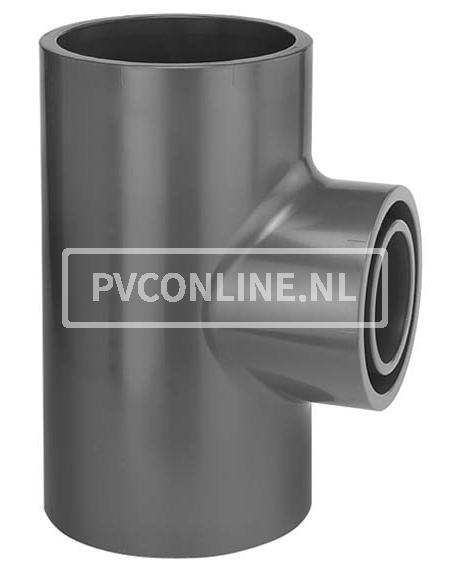 PVC T-STUK 160X 90 X160 90* PN 16