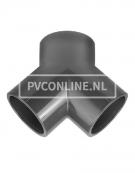 PVC Y-STUK 63 X 63 X 63 PN 16