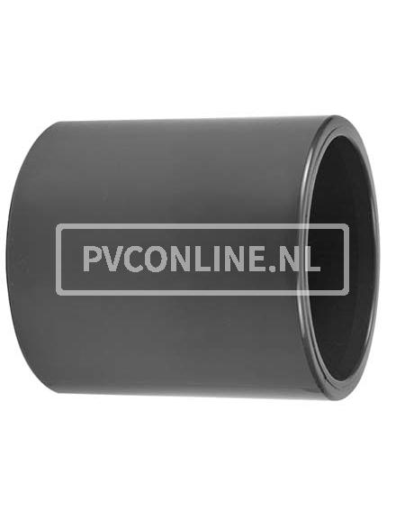 PVC SOK 50X 50 PN 16
