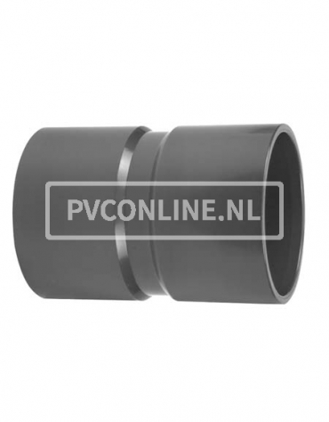 PVC HANDVORM SOK 125X125 PN 7,5