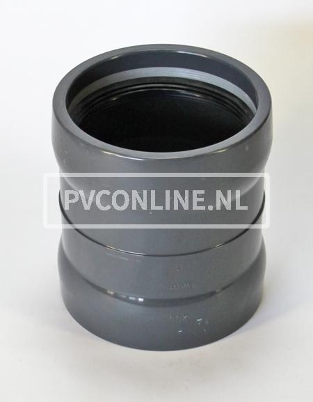 PVC OVERSCHUIFMOF 125 PN 10
