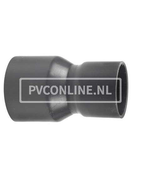 PVC HANDVORM VERLOOPSOK 110X 90 PN 12,5