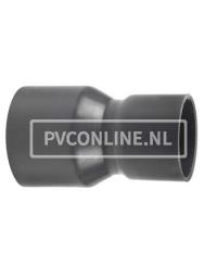 PVC HANDVORM VERLOOPSOK 125X 90 PN 10