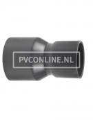 PVC HANDVORM VERLOOPSOK 125X 110 PN 10