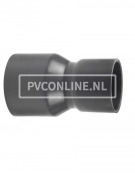 PVC HANDVORM VERLOOPSOK 160X 125 PN 10