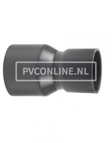 PVC HANDVORM VERLOOPSOK 200X 140 PN 10