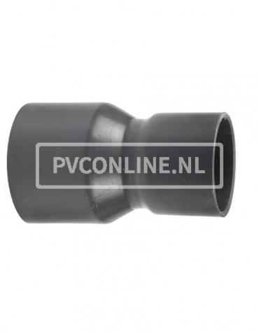 PVC HANDVORM VERLOOPSOK 250X 200 PN 10