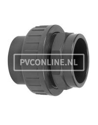 PVC KOPPELING 110X110 PN 10
