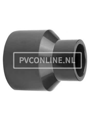 PVC INZETVERLOOPSOK 32/25X 16 PN16