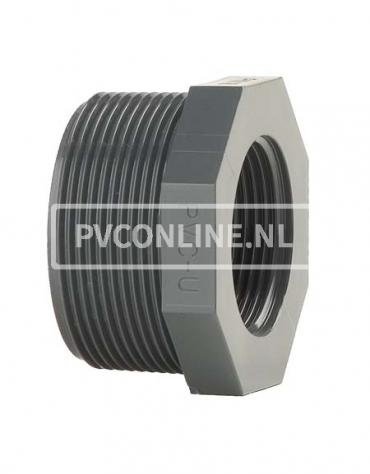 PVC VERLOOPRING 1 1/2 X 1