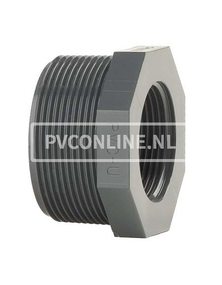 PVC VERLOOPRING 2 1/2 X 1 1/4
