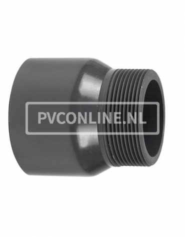 PVC DRAADEIND HANDVORM 160(mof)X 4 PN 16