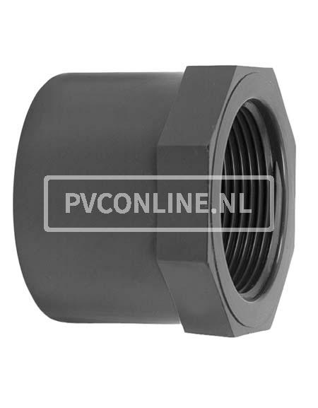 PVC LIJMRING 25X 3/8 PN 16