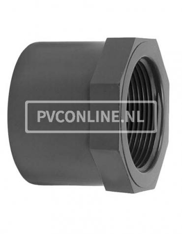 PVC LIJMRING 50X 1/2 PN 16