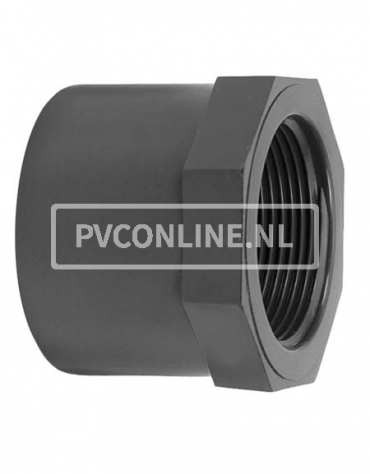 PVC LIJMRING 50X 1 1/4 PN 16