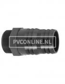 PVC SLANGPILAAR (DRAAD)11/2 X53X50
