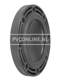 PVC BLINDFLENS 90
