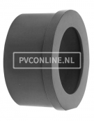 PVC INLEGSTUK SPUITGIETKOPPELING 25 X 1 1/4