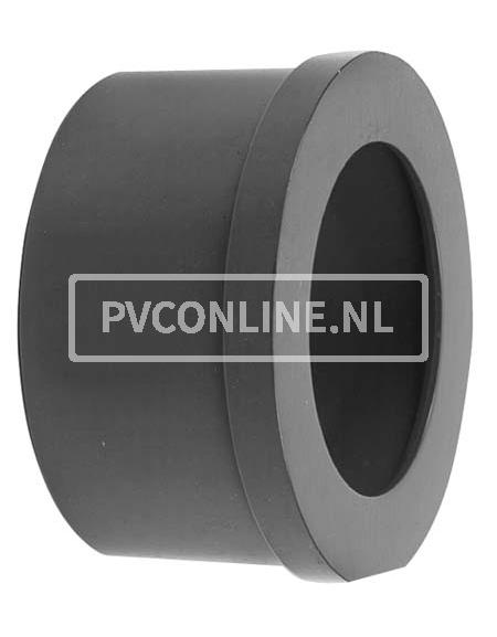 PVC INLEGSTUK SPUITGIETKOPPELING 63 X 2 3/4