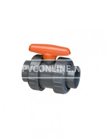PVC KOGELKRAAN TYPE DIL 40 X40