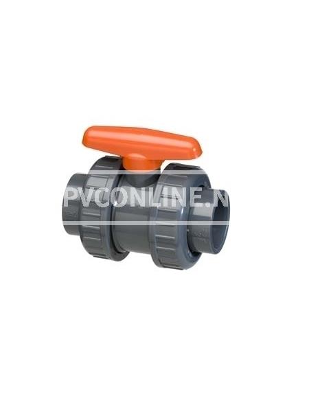 PVC KOGELKRAAN TYPE DIL 50 X50