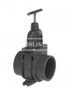 PVC HD SCHUIFAFSLUITER DIL 110 MM *VDL*