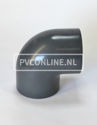 PVC HD KNIE 75 X 75 90o PN16 *ASTORE*