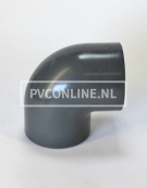 PVC HD KNIE 125 X 125 90o PN16 *ASTORE*