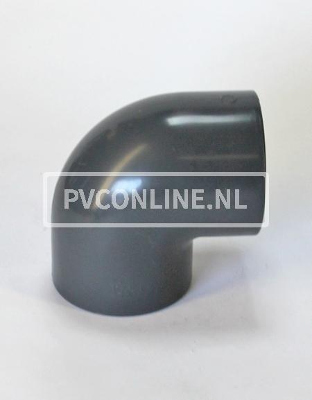 PVC HD KNIE 250 X 250 90o PN10 *ASTORE*
