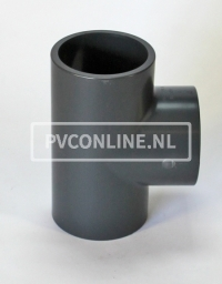 PVC HD T-STUK 32 X 32 X 32 PN16 *ASTORE*